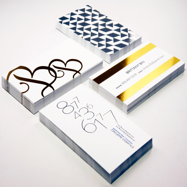 printing-business-cards-foiled