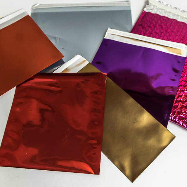 promotions-DL-foiled-envelopes