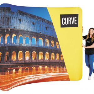 large-curve-fabric-display-stand